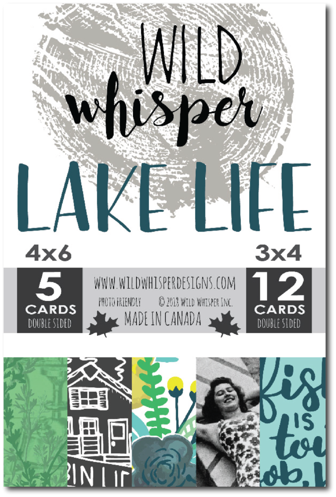 ^Wild Whisper - Lake Life Collection - Card Pack