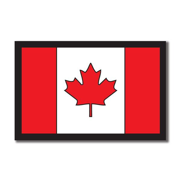 ^Scrapbook Customs Canada Flag Die Cut