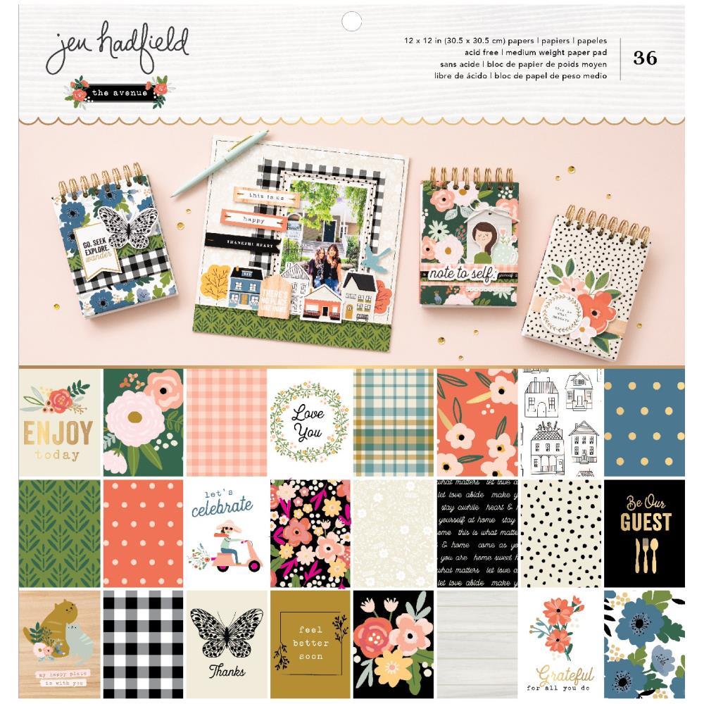 Jen Hadfield The Avenue - 12x12 Paper Pad