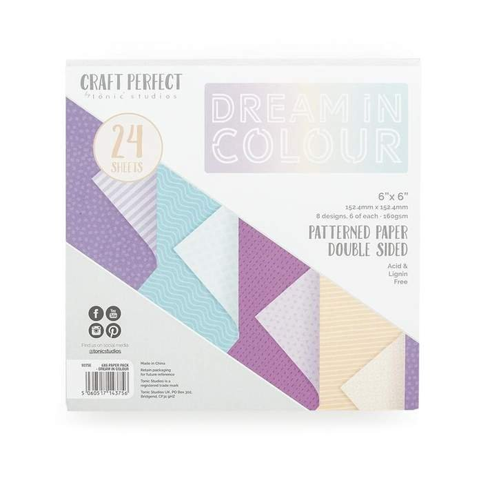 Craft Perfect - Dream in Colour 6x6 Paper Pad