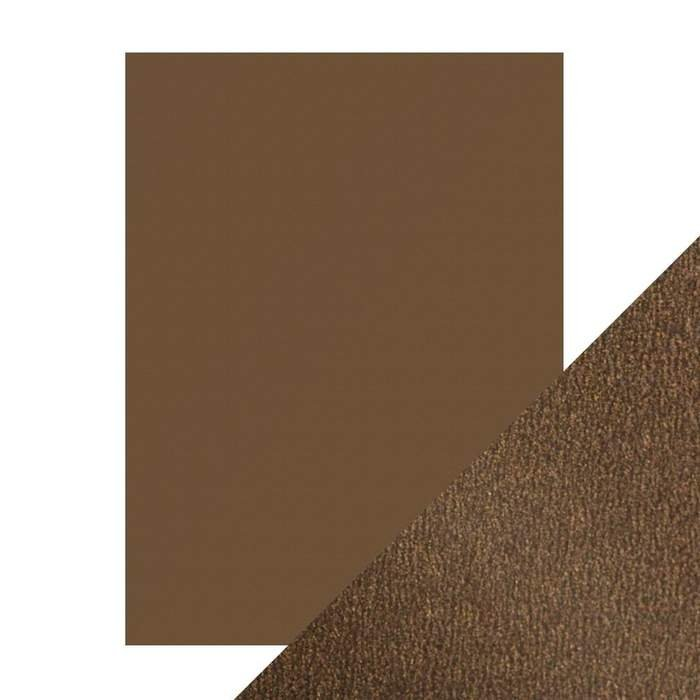 Craft Perfect - Pearlescent Card Glazed Chesnut (9537e) 8.5 x 11 5 Sheets/Pack