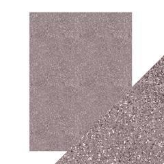 ^Craft Perfect Glitter Card - Berry Fizz, 8.5 x 11, 5/pkg