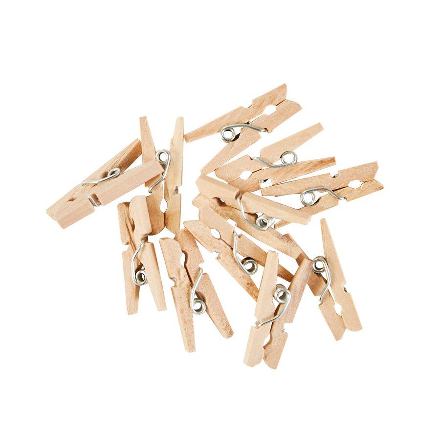 ^Mini Wooden Clothespins (FSJ)