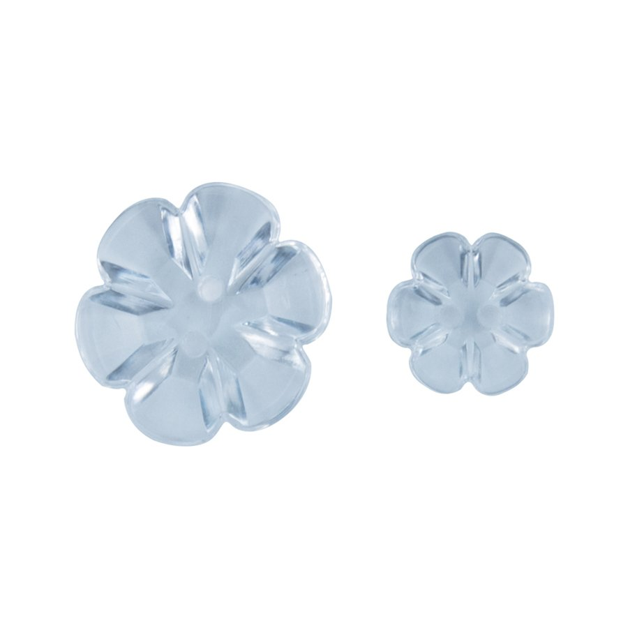 ^Clear Blooms Accents Buttons (FSJ)