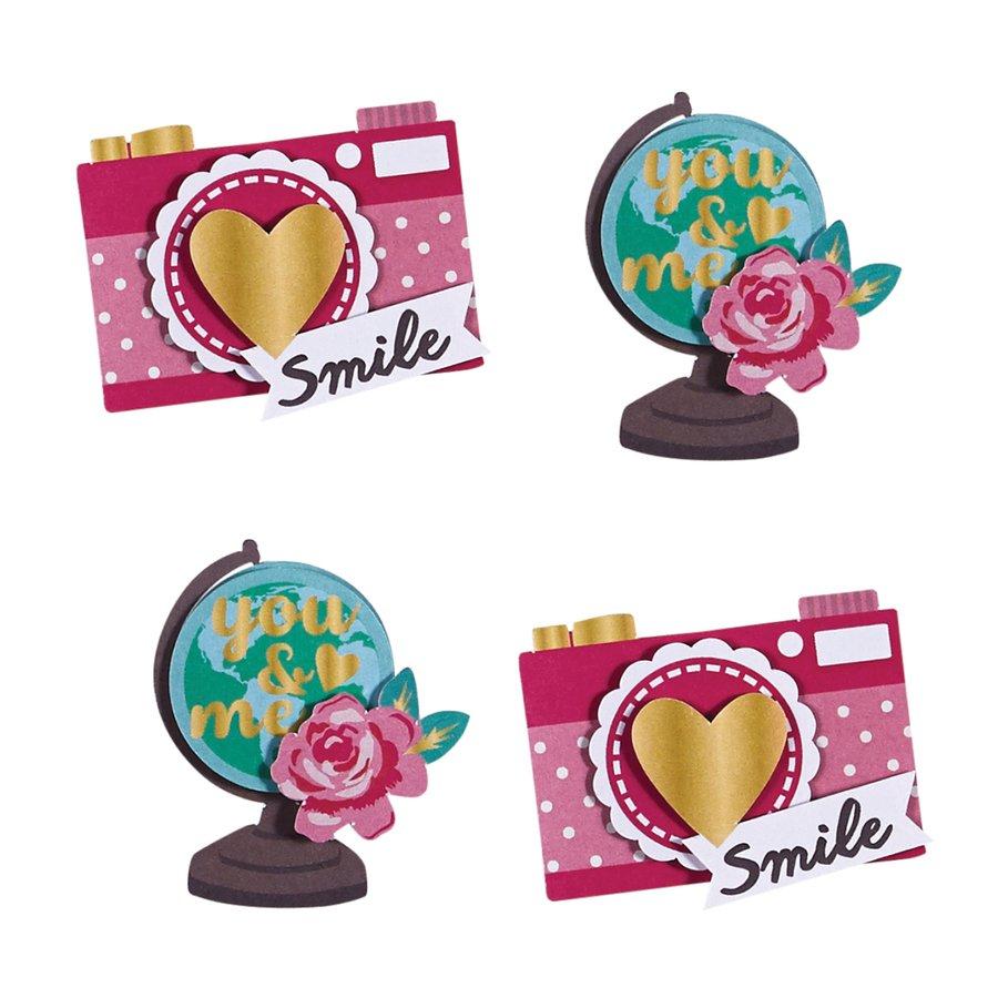 ^Snap Accents Dimensional Stickers (FSJ)