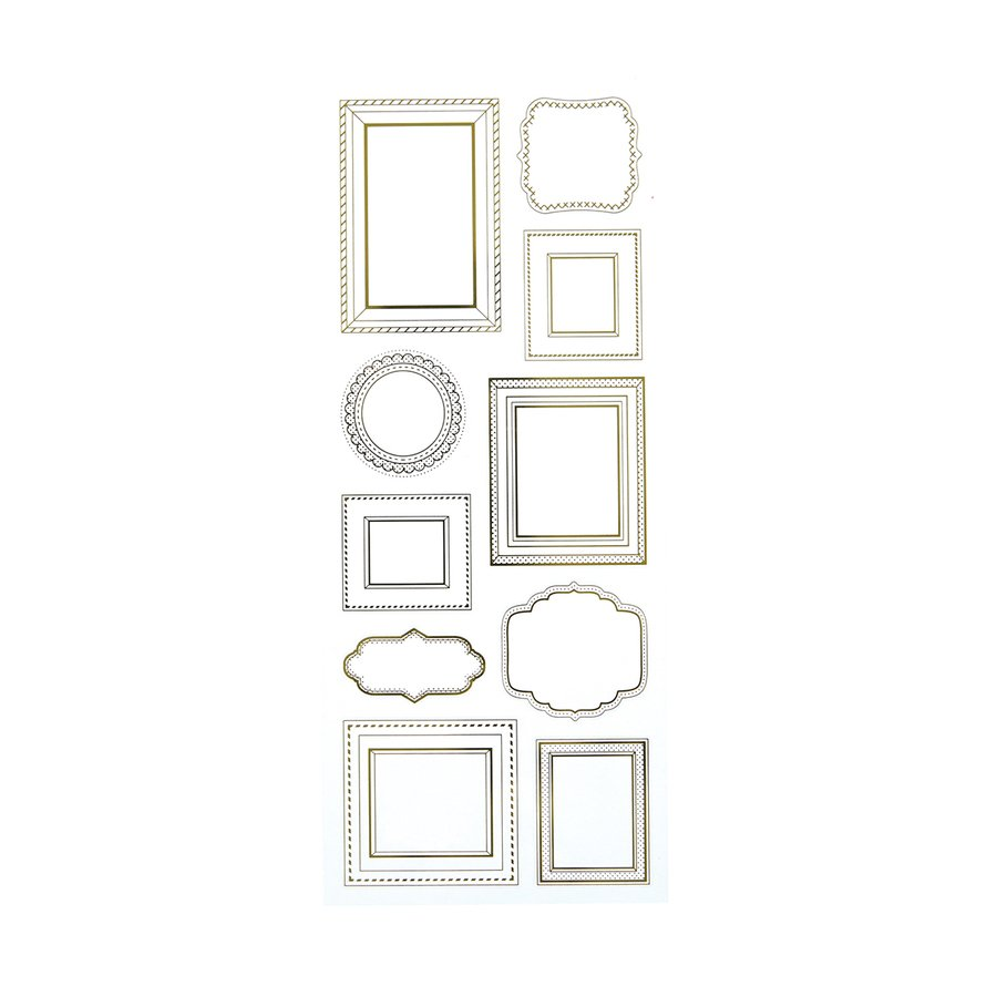 ^Frame It Foils Foil Stickers (FSJ)