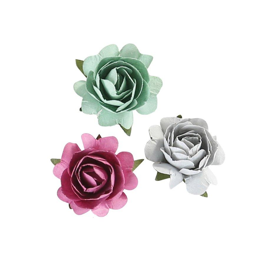 ^Cottage Flowers Paper Flowers (FSJ)