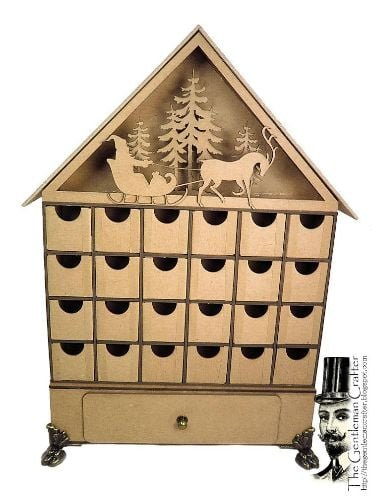Exclusive Advent Calendar Kit by The Gentleman Crafter