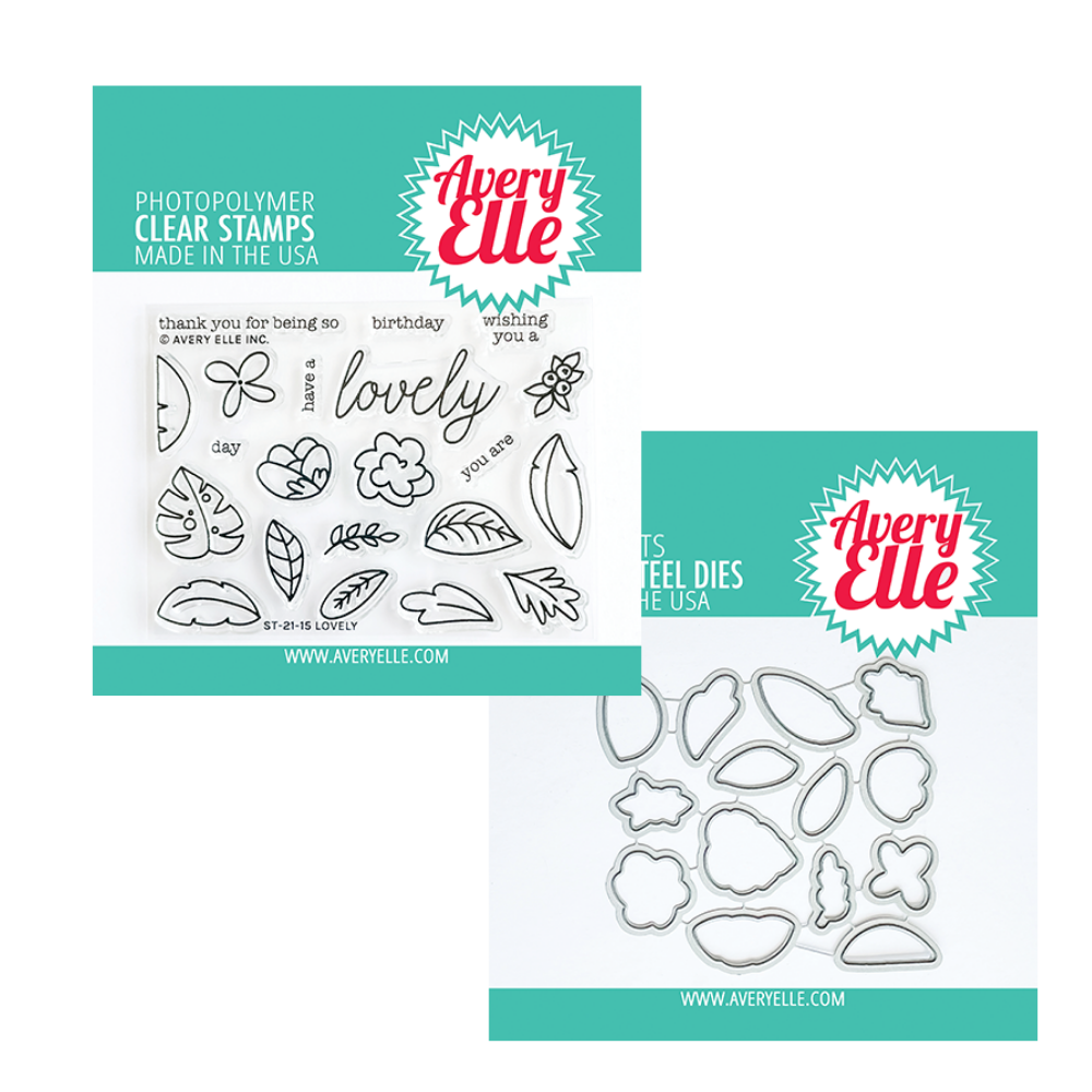 Avery Elle - Lovely - Stamp and Die BUNDLE