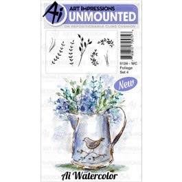 AI -  Watercolor Stamps - Foliage Set 4 (5126)
