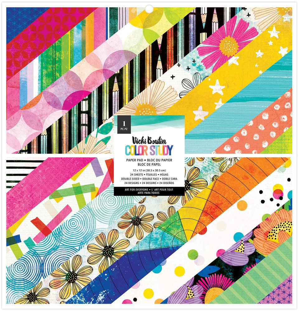Vicki Boutin - Color Study - 12x12 Paper Pad (Pre-Order)