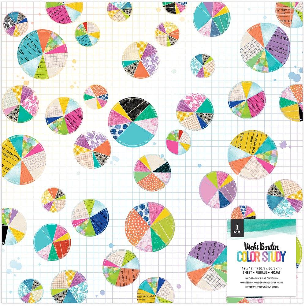 Vicki Boutin - Color Study - 12x12 Printed Vellum (Pre-Order)
