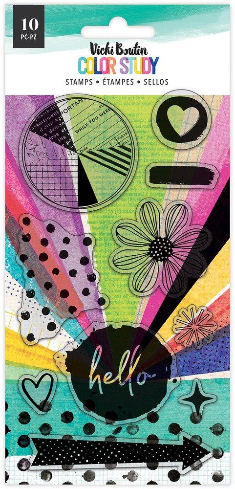 Vicki Boutin - Color Study - Hello Stamp Set (Pre-Order)