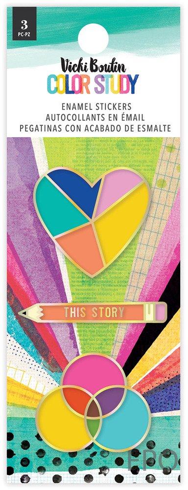 Vicki Boutin - Color Study - Enamel Stickers (Pre-Order)
