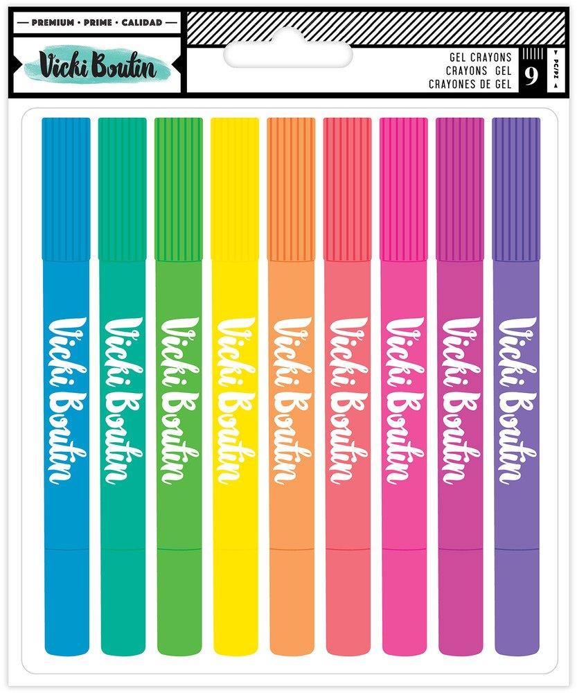 Vicki Boutin - Gel Crayons (Pre-Order)