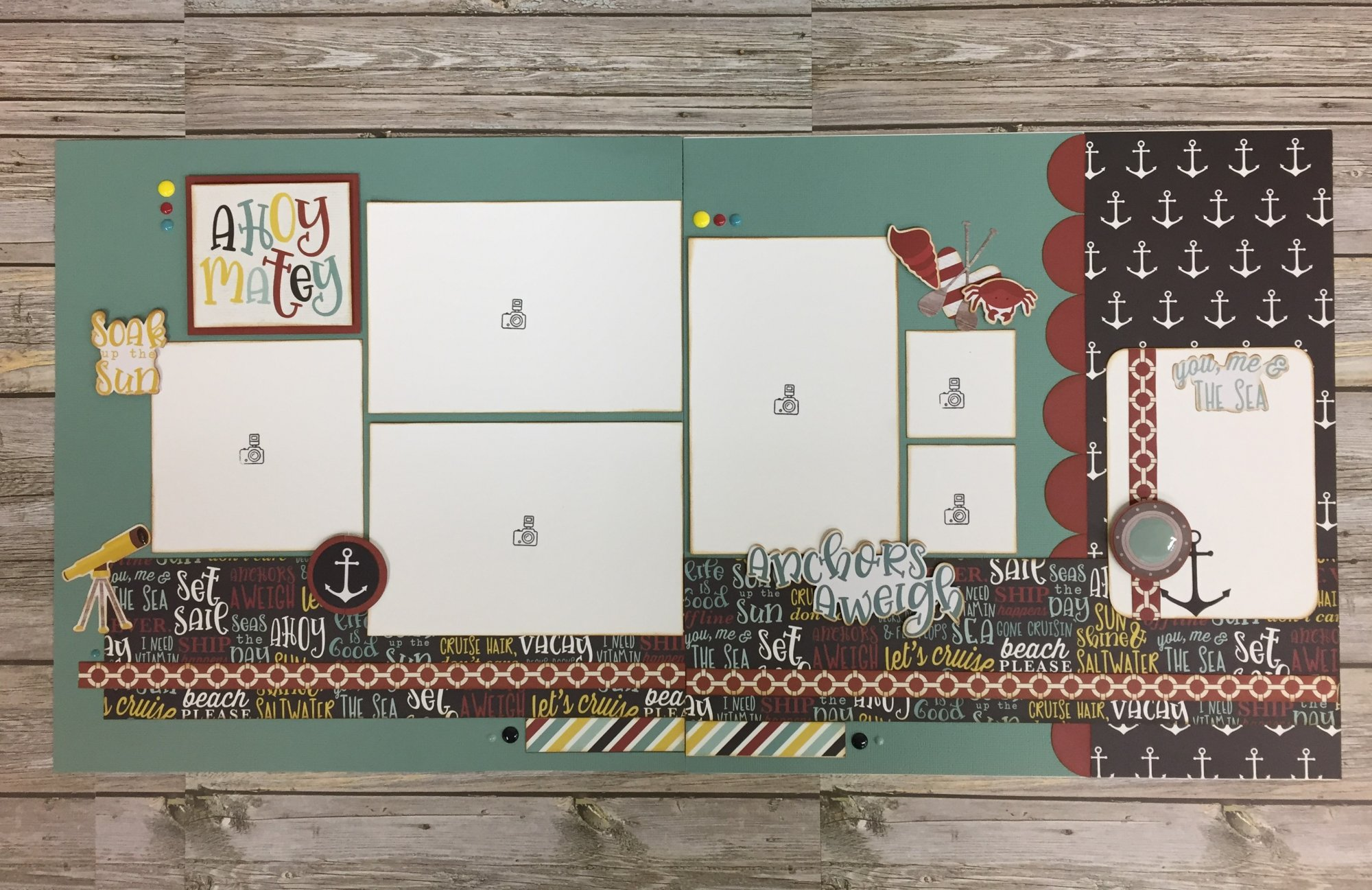 Anchors Aweigh Layout Kit