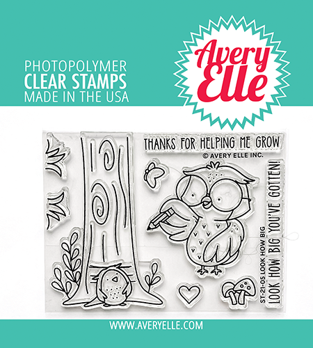 Avery Elle - Clear Stamps - Look How Big