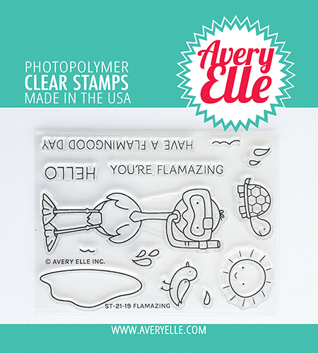 Avery Elle - Clear Stamps - Flamazing