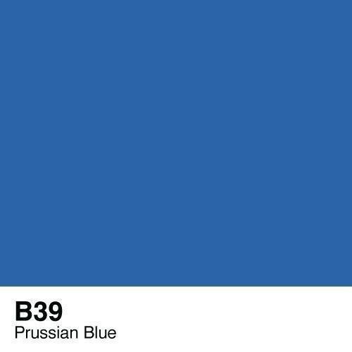 Copic -  Sketch Marker B39 Prussian Blue