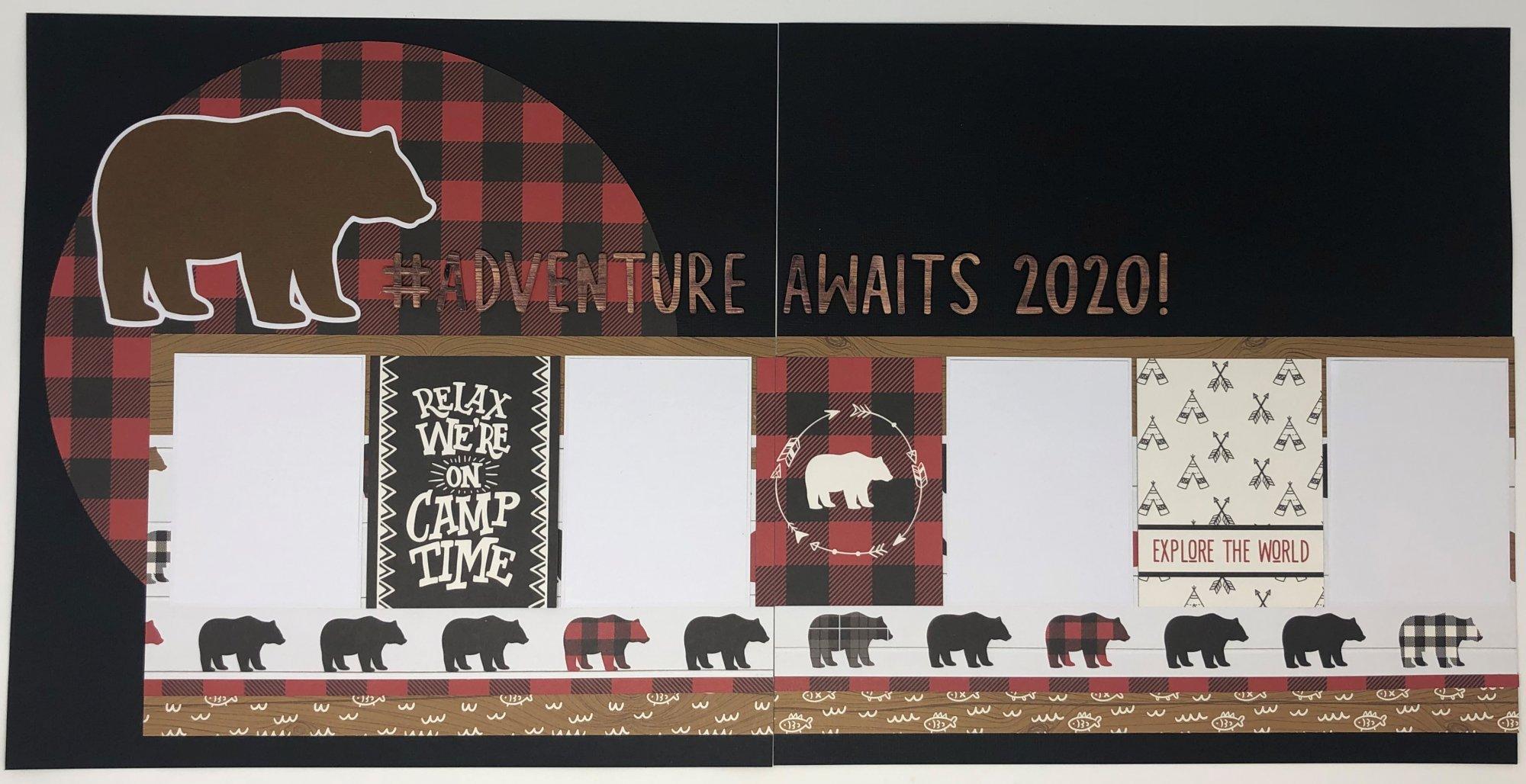 ^Layout Kit - Bear Adventure