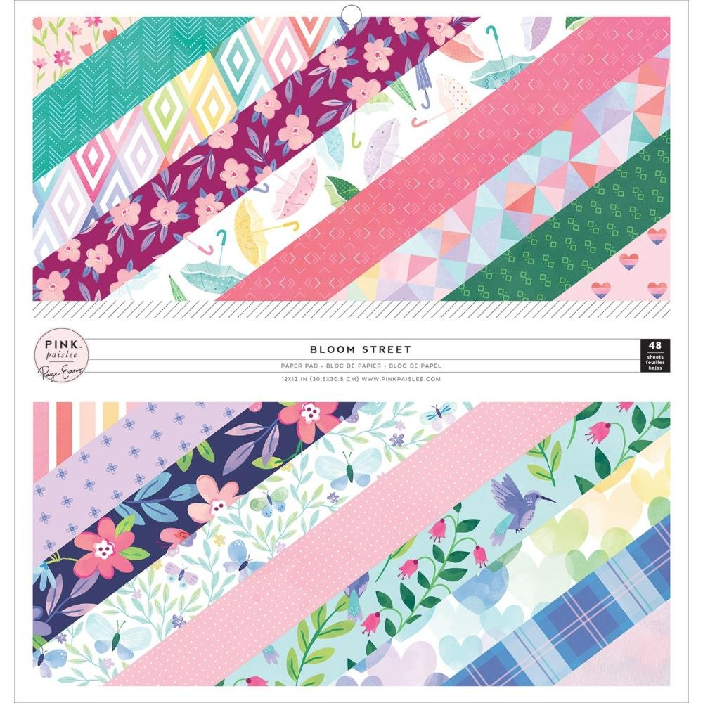 Paige Evans Bloom Street - 12X12 Single-Sided Paper Pad