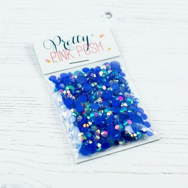 Pretty Pink Posh - Jewels - Blue Lagoon