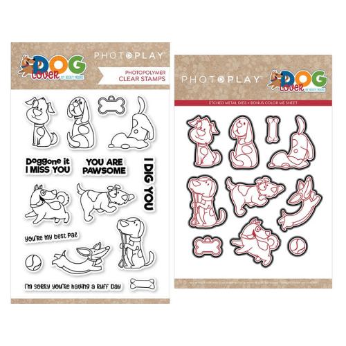 PhotoPlay - Dog Lover - Stamp and Die Bundle