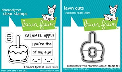 Lawn Fawn - Caramel Apple Stamp and Die Combo
