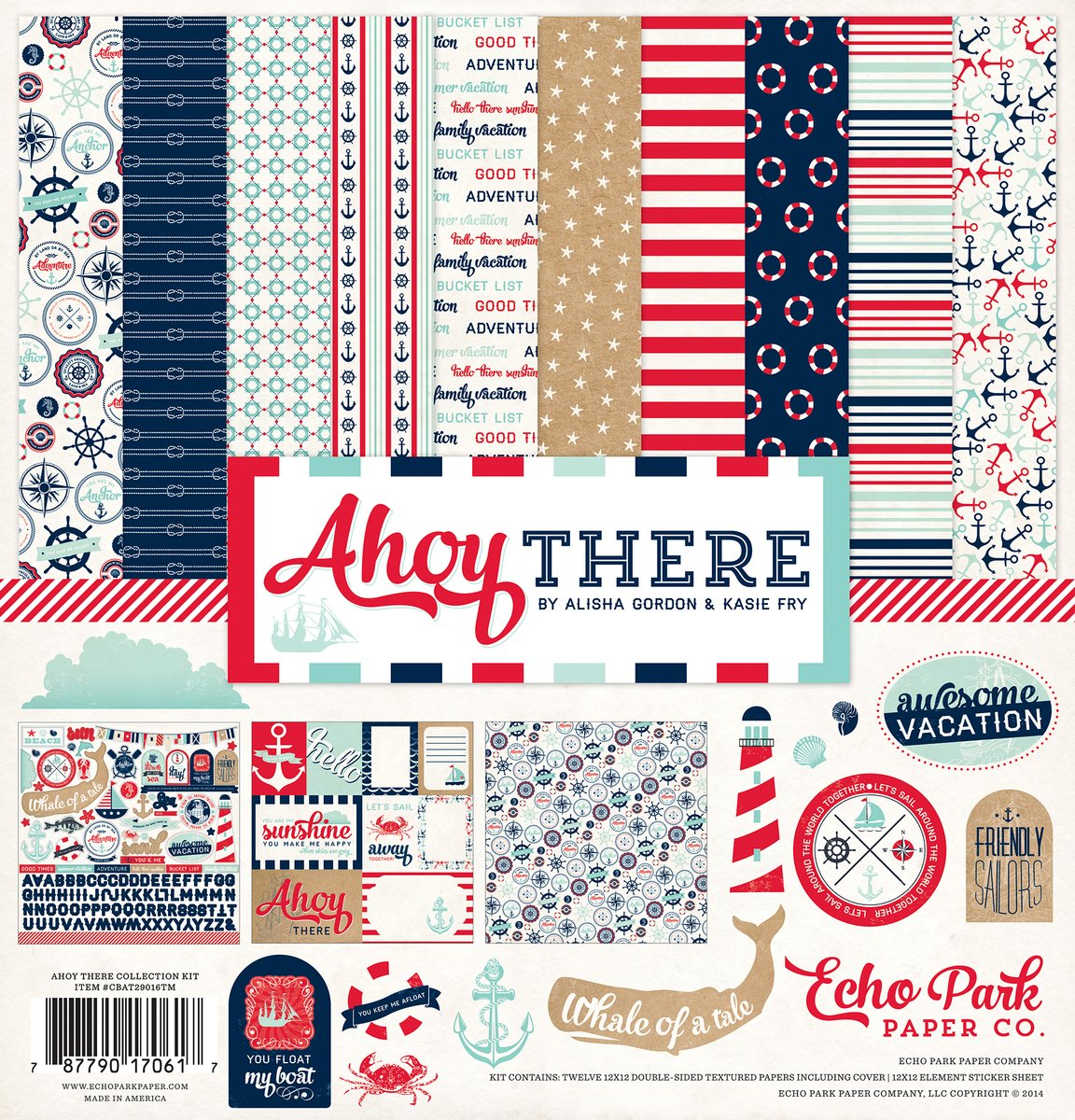 Echo Park Ahoy There - 12x12 Collection Pack