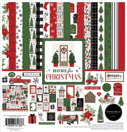 Carta Bella - Home For Christmas - 12x12 Collection Kit