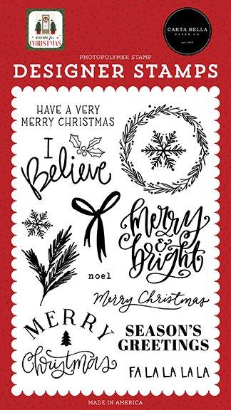 Carta Bella - Stamps - I Believe