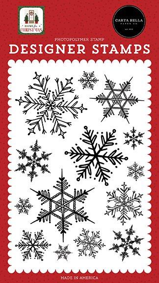 Carta Bella - Stamps - Snowflake Season