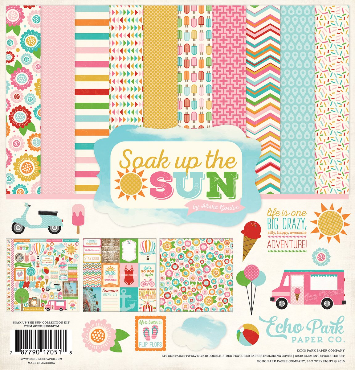 Echo Park Soak Up The Sun - 12x12 Collection Pack