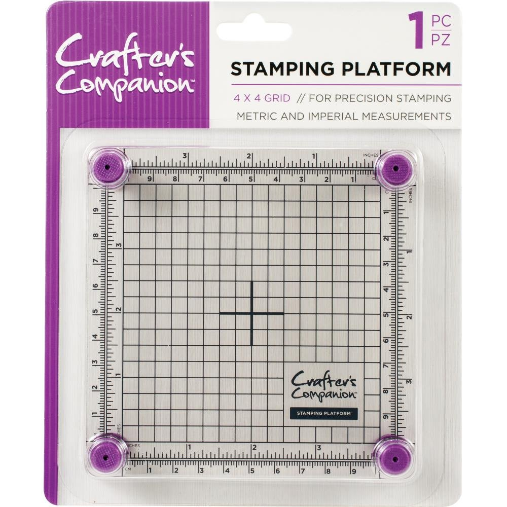 Crafter's Companion Stamping Platform - 4 x 4