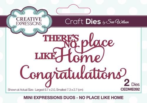 Creative Expressions - Mini Expressions Duos - No Place Like Home