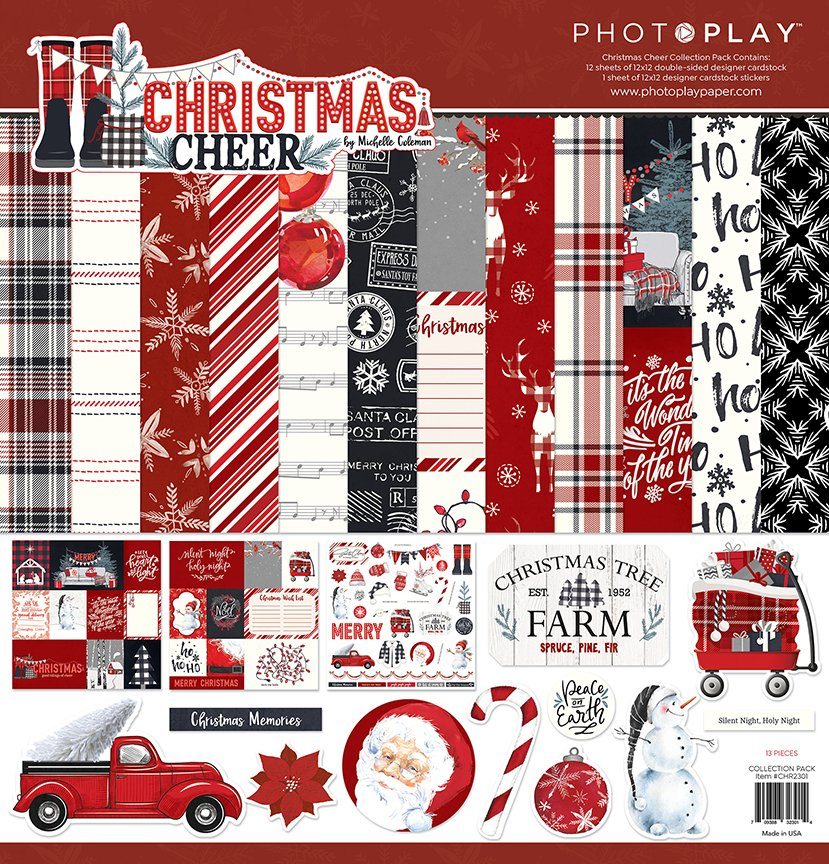 Christmas Cheer - 12x12 Collection Pack (PhotoPlay)