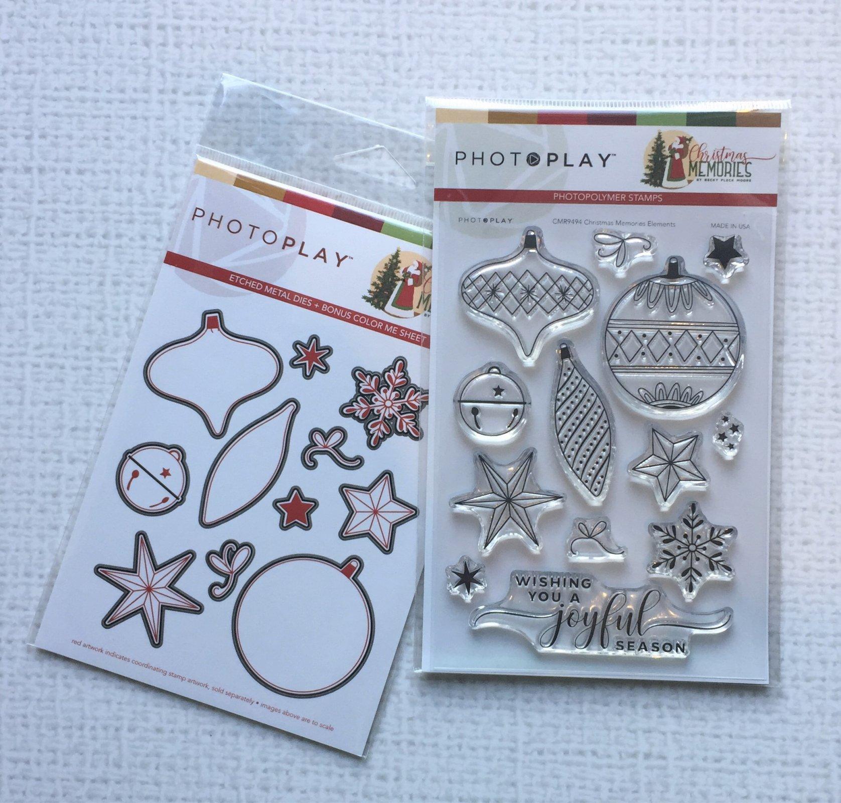 PhotoPlay - Christmas Memories Stamp and Die Bundle