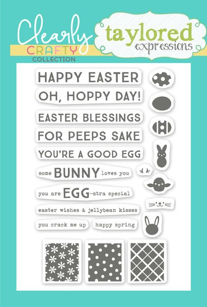 Taylored Expressions Stamps - Tag Team Easter