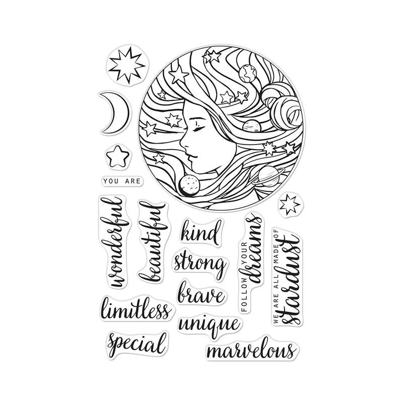 Hero Arts Clear Stamps - Universal Woman