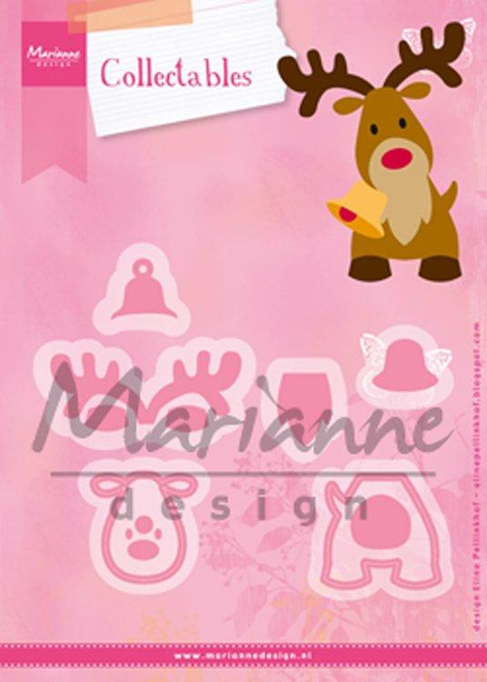 ^Marianne Design - Eline's Reindeer Collectables Die Set