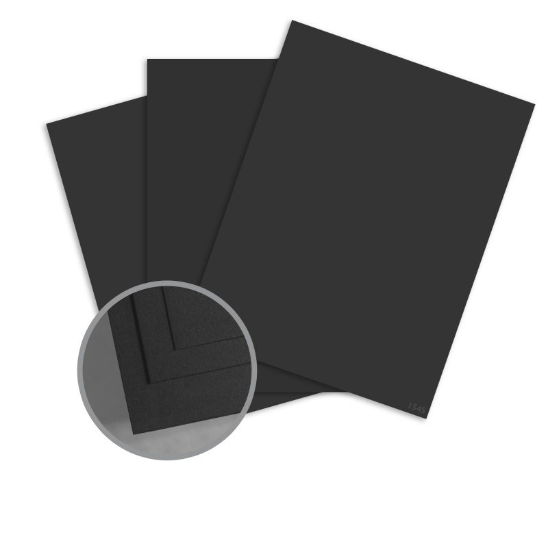 ColorMates - Charcoal Smooth & Silky 12x12 Card Stock - 80 lb 10/Pk