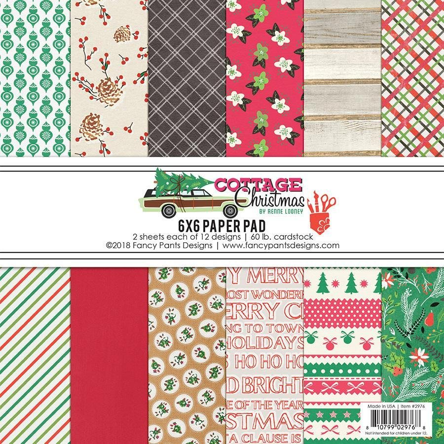 ^Cottage Christmas 6x6 Paper Pad (Fancy Pants)