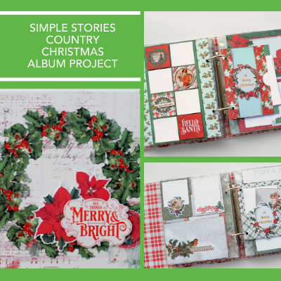 Country Christmas Album Kit by Simple Stories