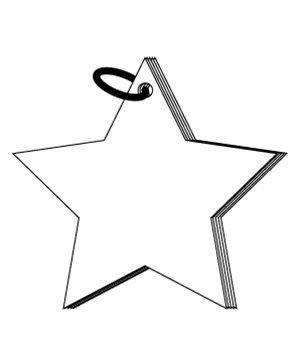 ^Clear Scraps - Mini Star Album, Acrylic