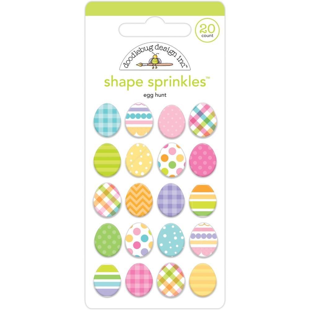 Doodlebug - Shape Sprinkles - Egg Hunt