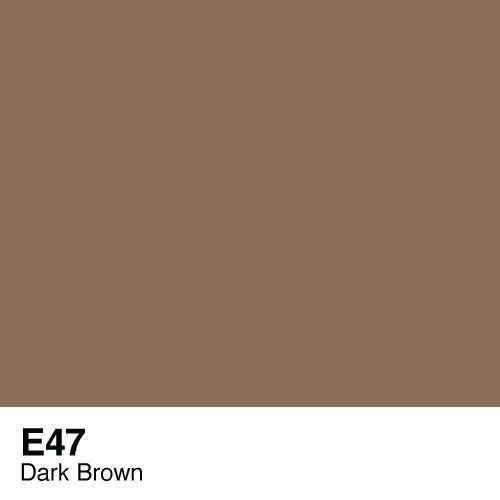 Copic -  Sketch Marker E47 Dark Brown