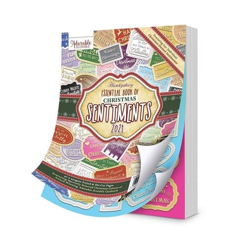 Hunkydory - Essential Book of Christmas Sentiments 2021