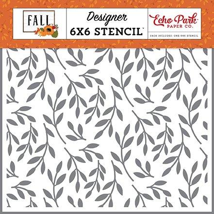 Echo Park - Stencil - Fall Foliage