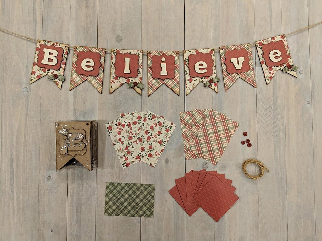 Foundations Decor - Believe Banner Kit