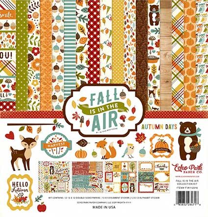 Echo Park - Fall Is In The Air - 12x12 Collection Pack